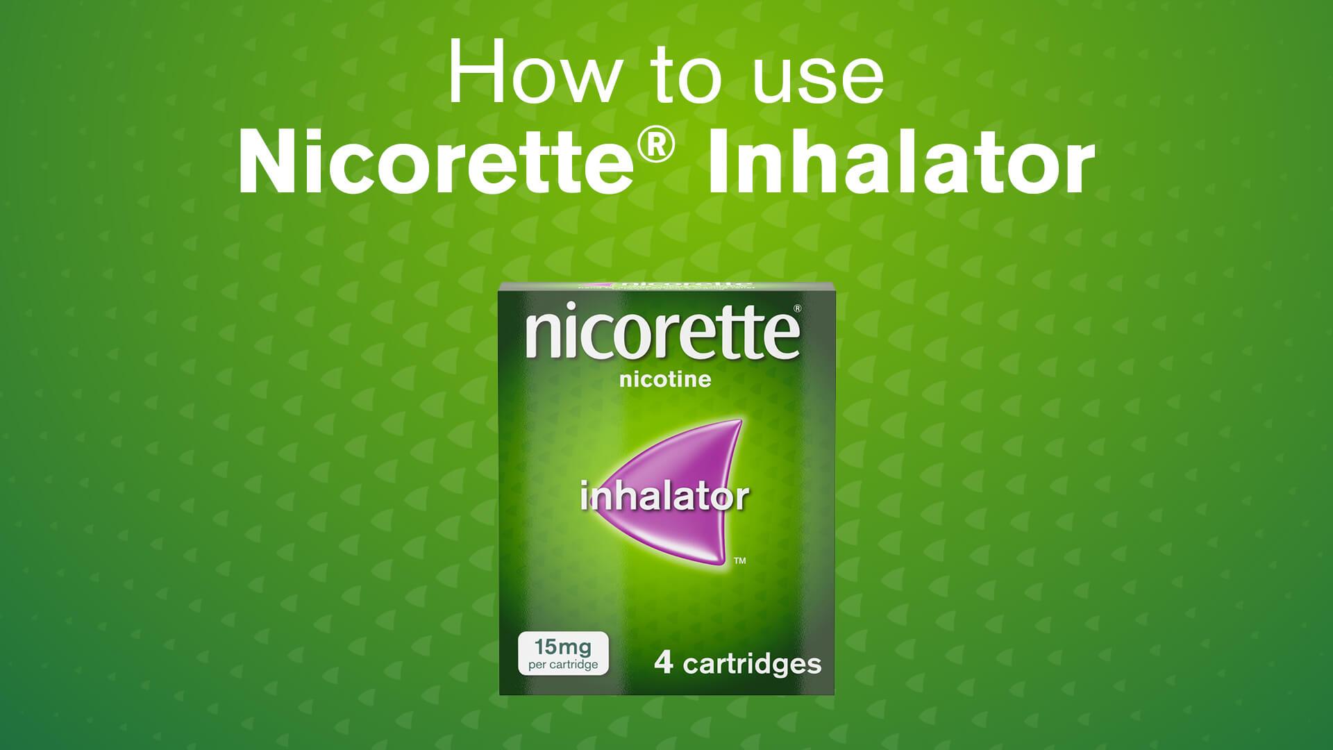 Nicorette® Inhalator