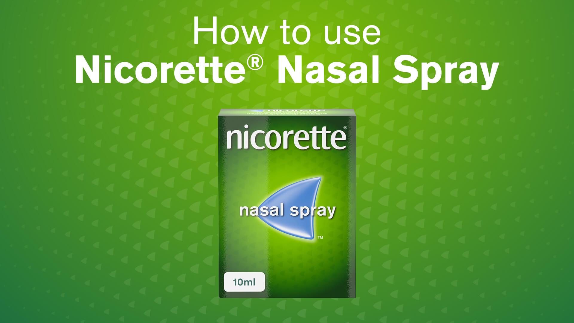 Nicorette® Nasal Spray